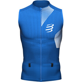 Compressport Trail Postural Tank Top Men blue lolite